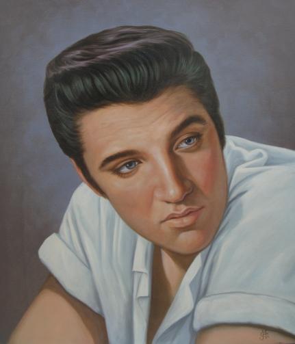 portret Elvis Presley ...