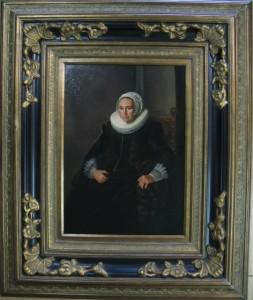 Frans Hals - Cornelia Claesdr Vooght 50x70 +lijst