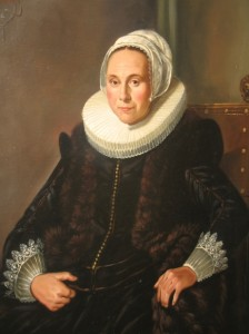 Frans Hals - Cornelia Claesdr Vooght 50x70 close up