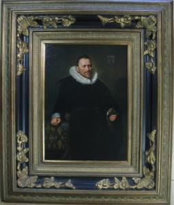 Frans Hals - Nicolaes Woutersz van der meer 50x70+lijst