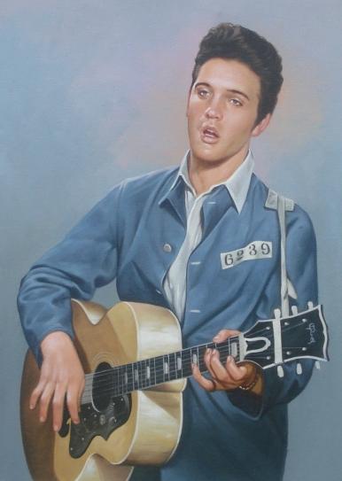 Elvis Presley | Schilderijen-oudemeesters.nl Arnold Schwarzenegger