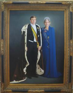 portret koning Willem-Alexander en koningin Maxima 3
